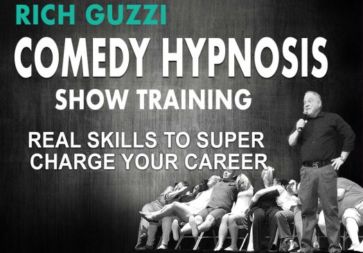 Rich Guzzi Advanced Comedy Hypnosis Show Training